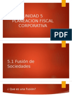 Unidad 5 Planeacion Fiscal Corporativa