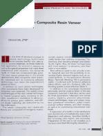 Esthetics in the Composite Resin Veneer technique.pdf