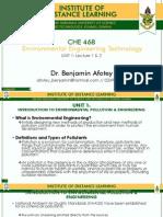 CHE 468-UNIT 1