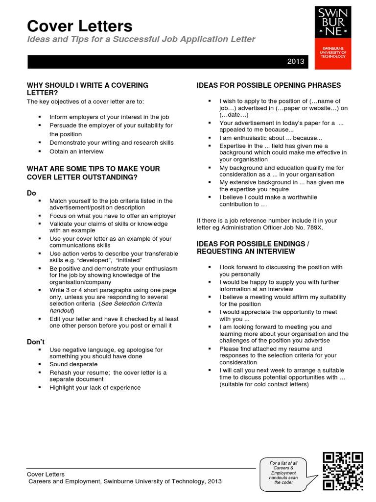 apply cover letter | résumé | employment