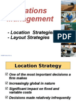 Lecture Location Strategies