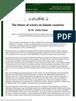Nobel Laureate - Dr. Abdus Salam - The Future of Science in Islamic Countries