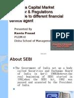 SEBI as a Capital Market Regulator