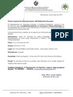 Comunicado No 9 Jornada Inglés 15 Y 16 de JUNIO 2015