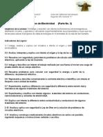 Unidad PRINCIPIOS DE ELECTRICIDAD  No 2 segundo año guia+cesf