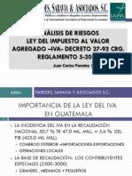 Analisis de Riesgos Ley Del Iva y Reg 62013