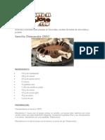 Recetas Relacionadas Al Chocolate