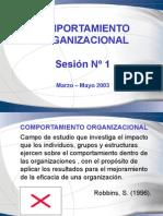 Comportamiento Organizacional Sesion 1