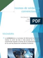 soldadura- procesos convencionales