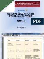 Educacion Superior Tema II