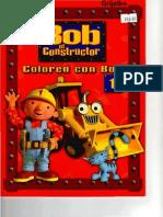 Libro Colorear Bob El Constructor