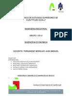 Variables Economicas de Mexico