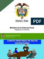 Presentacion COPASO Min Protecccion Social