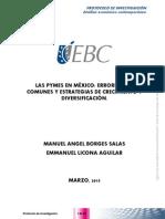 Perdida de Competitividad de las PyMES mexicanas frente a un mundo globalizado