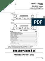 Hfe Marantz Pm4001 Ose 4001f Service