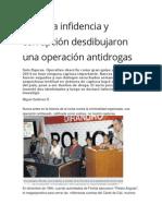 Cómo La Infidencia y Corrupción Desdibujaron Una Operación Antidrogas