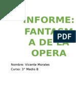 Informe El Fantasma de La Opera