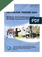 16-PS-2015 Bantuan Komunitas Ponpes
