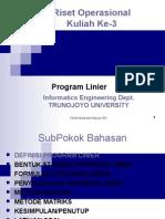 Lecture 3 Program Linier3
