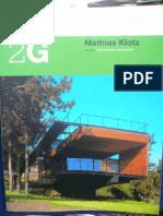 2G - Mathias Klotz