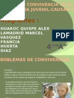 Problemas de Convivencia Peru