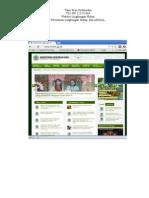 Website lingkungan hidup