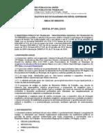 Estagio Direito MPT 2015