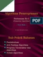 algoritma pemrograman ppt