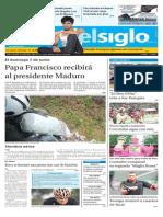 Edición Impresa El Siglo Lunes 01-06-2015
