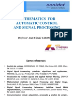 Maths for Automatic Control and Signal Processing V3