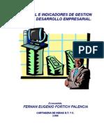 Control e Indicadores de Gestion Para El Desarrollo Empresarial