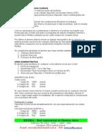 Requisitos Para Cursos REDBA