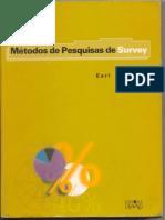 Métodos de Pesquisa Survey