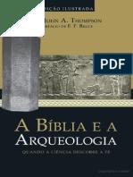 JOHN a. THOPSON DR.a Biblia e a Arqueologia