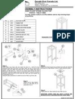 Plant StandAssembly Instruction.ppt