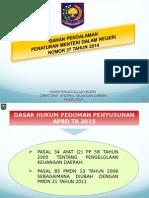 Pedoman Penyusunan APBD 2015
