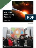 The New Marketing Agenda - Peter Fisk - January 2010