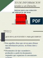 Las Fuentes de Informacion