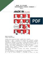 Made in Poland - Antologia Reporterów Dużego Formatu 2013
