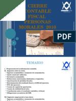 Cierre Fiscal PM 2010 Final Nacional
