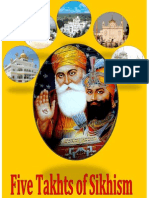 Five Takhts of Sikhism
