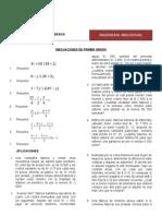 Inecuaciones Lineales, Cuadráticas. Ecuaciones Exponenciales y Logaritmicas