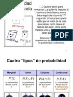 estadistica probabilidades  y ejemplos