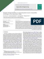 Inorganic Nitrogen Dynamics in Sequencing Batch Reactors Using Biofloc Technology to Treat Aquaculture Sludge