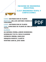 Distribucion de Planta Textil Final