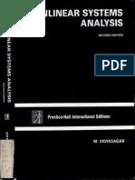 Nonlinear System Analysis Vidyasagar (6)