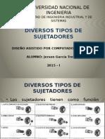 DIFERENTES TIPOS DE SUJETADORES