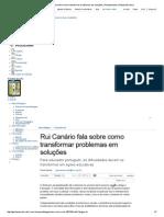 Rui Canário Fala Sobre Como Transformar Problemas Em Soluções _ Planejamento _ Gestao Escolar