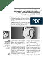 Preconceito No Brasil Contemporâneo - Artigo