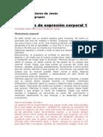 Dinámica de Grupos Gestalt Ejercicios de Expresión Corporal 1